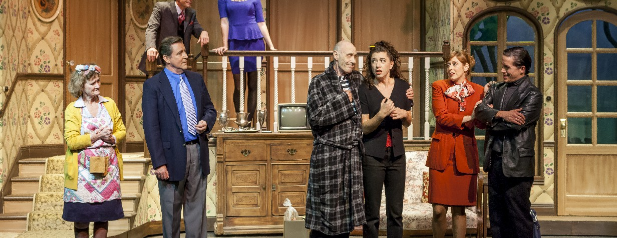 Noises Off Production - Waterfront Playhouse