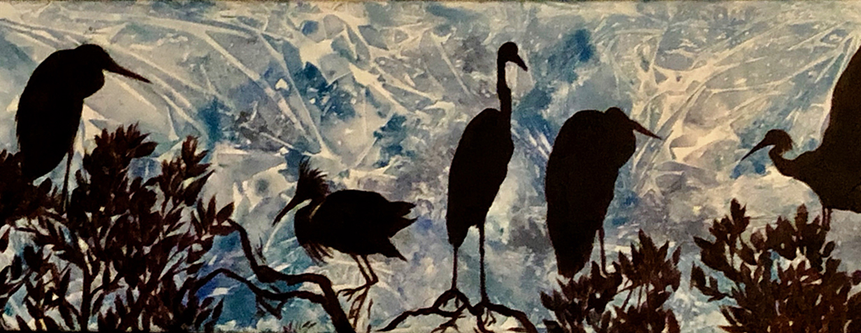 Jane Tomlinson -Silhouetted Birds of the Keys