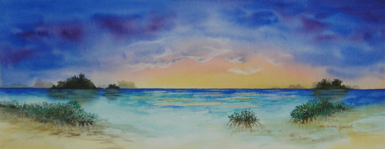 Mangrove Sunset M. Ann Lynch