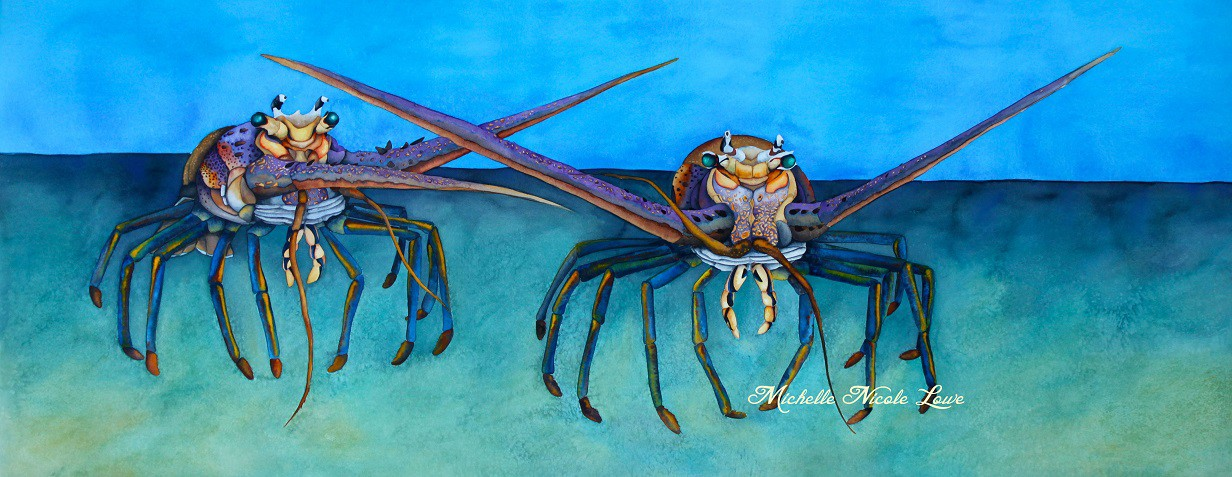 Spiny Lobster by Michelle Nicole Lowe